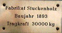 Stuckenholz Schild